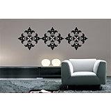 """Декораттивная наклейка на стену """"Узоры"""" (33,5*52 см)"""