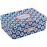 """Коробка для безделушек и мелочей """"Шебби шик синяя"""" (12.5*9*4см)"""