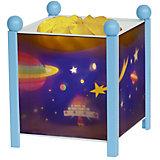 """Светильник-ночник в форме куба """"Космос"""" Trousselier,  голубой"""