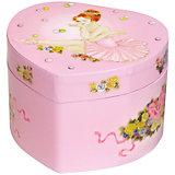 Музыкальная шкатулка Ballerina In Pink Tutu, Trousselier, розовый