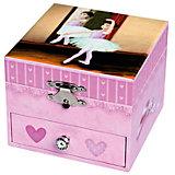 Музыкальная шкатулка Dancer In Tutu - Figurine Ballerina, Trousselier, pink
