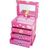 """Музыкальная шкатулка """"Девочка Ангел"""" Princess, Trousselier, Pink"""