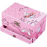 "Музыкальная шкатулка ""Девочка на дереве"" Figurine Ballerina, Trousselier, pink"