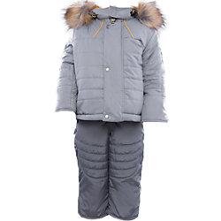 Комплект: куртка и полукомбинезон на овчине для мальчика Артель