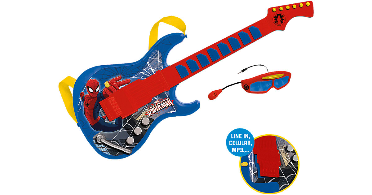 Gitarrenset Spiderman