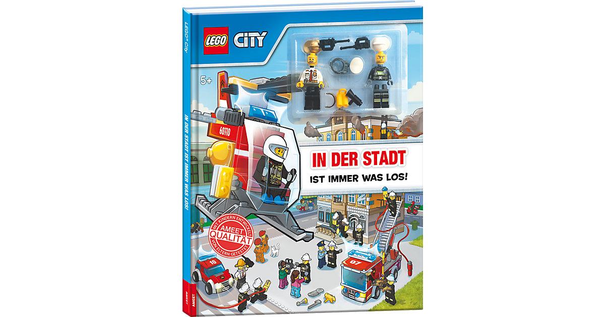 Buch - LEGO City - In der Stadt ist immer was los!, mit zwei Lego-Figuren
