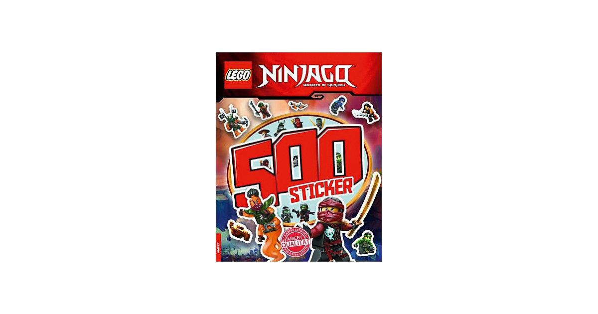 Buch - LEGO Ninjago - 500 Sticker