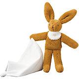 Мягкая игрушка Зайка с платочком, 20см, Trousselier