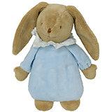 Мягкая игрушка Зайка с музыкой, голубой, 25см, Trousselier