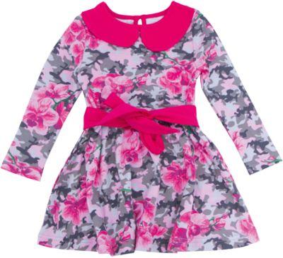 Нарядное платье для девочки Апрель - розовый
