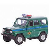 Модель машины УАЗ  31514 ВОЕННАЯ АВТОИНСПЕКЦИЯ, Welly
