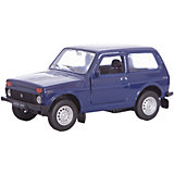 Модель машины 1:34-39 LADA 4x4, Welly