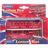 Модель автобуса  London Bus открытый, Welly