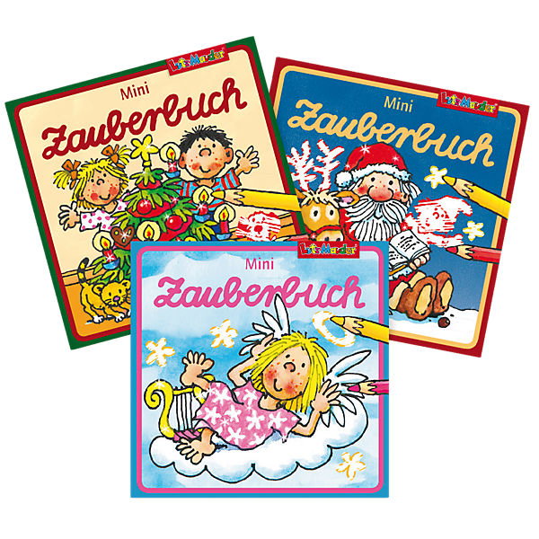 Mini-Zauberbuch, 3er Set