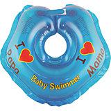 Круг для купания BabySwimmer, голубой