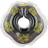 Круг для купания BabySwimmer, черный  - Хохлома