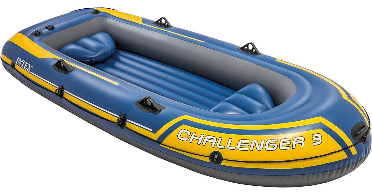 надувная лодка intex challenger 3 видео