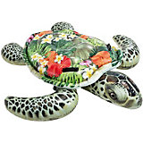 """Надувная игрушка-плот """"Морская черепаха"""", с ручками, Intex"""
