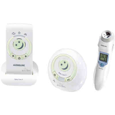 Babyphone Baby Care 6 Eco Zero inkl. Kontakt-Infrarot-Fieberthermometer Watch & Care NFS-100
