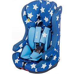 Автокресло Fix One 9-36 кг., Babyhit, синий в белую звёздочку