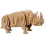 Белый носорог, Мир деревянных игрушек