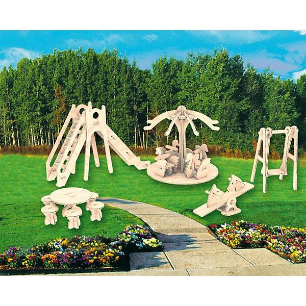 Детская площадка, Мир деревянных игрушек
