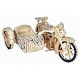 Мотоцикл с люлькой, Мир деревянных игрушек