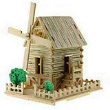 Ветряная мельница малая, Мир деревянных игрушек