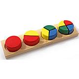 Дроби малые 1 (круг), Мир деревянных игрушек