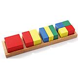 Дроби малые 2 (квадрат), Мир деревянных игрушек