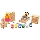 Набор для творчества Спальня, Мир деревянных игрушек