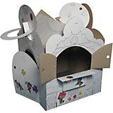 Домик-раскраска с набором 16 стикеров по мотивам мульт-сериала ЙОКО, Yohocube