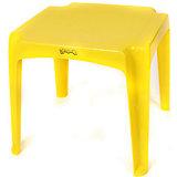 Стол 520х520х475 мм, Пластишка, желтый