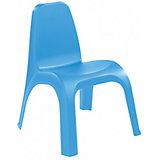 Стул 380х425х525 мм, Пластишка, голубой