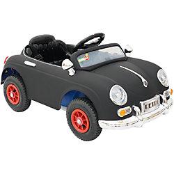 Электромобиль Retro, черный, BabyHit