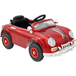 Электромобиль Retro, красный, BabyHit