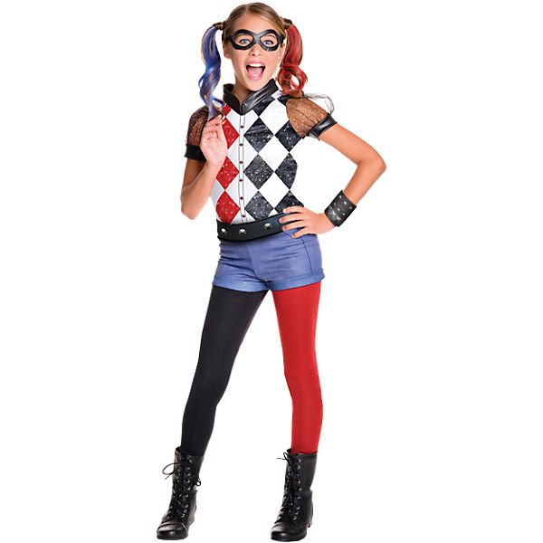 Kostüm Harley Quinn Deluxe Child