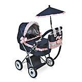 Коляска для куклы с сумкой и зонтиком DeCuevas Романтик