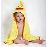 Полотенце с капюшоном Puddles the Duck (0-18 мес.), Zoocchini