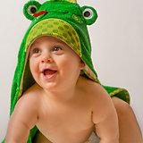 Полотенце с капюшоном Flippy the Frog (0-18 мес.), Zoocchini