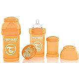 Антиколиковая бутылочка 180 мл., Twistshake, оранжевый