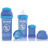 Антиколиковая бутылочка 260 мл., Twistshake, синий