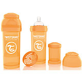 Антиколиковая бутылочка 260 мл., Twistshake, оранжевый
