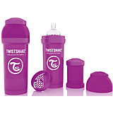 Антиколиковая бутылочка 260 мл., Twistshake, фиолетовый