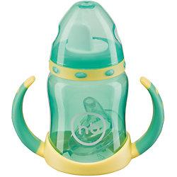 """Поильник с двумя тренировочными клапанами """"ERGO CUP"""", Happy Baby"""