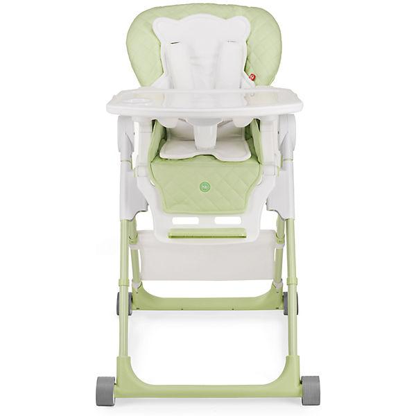 Стульчик для кормления William V2, Happy Baby, зеленый