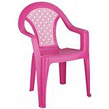 """Кресло детское """"Плетёнка"""" ,  Alternativa, розовый"""
