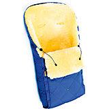 Конверт в коляску натур овчина, Ramili, синий