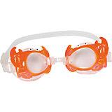 Очки для плавания детские, Bestway, оранжевые