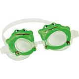 Очки для плавания детские, Bestway, зелёные